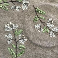 Hand Embroidery and Its Types - Embroidery Patterns Hand Embroidery Stitches, Silk Ribbon Embroidery, Hand Embroidery Designs, Floral Embroidery, Cross Stitch Embroidery, Machine Embroidery, Sewing Art, Sewing Crafts, Couture Embroidery
