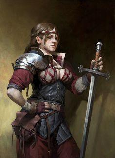 -brutal fighter by CG-sister.deviantart.com on @DeviantArt