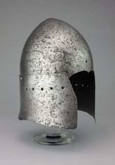 Art for the Garden:  Italian or Mediteranean in the Italian style  Sallet, late 14th/early 15th century  Steel