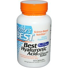 Doctor's Best, Best Hyaluronic Acid, with Chondroitin Sulfate, 60 Capsules -- iHerb.com discount code ATA717