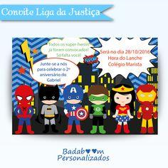 Convite Liga da Justiça