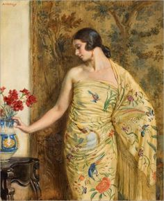 George Owen Wynne Apperley (British 1884–1960) #art #1920s