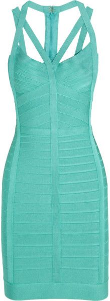 Love this: Bandage Dress @Lyst  HERVE LEGER