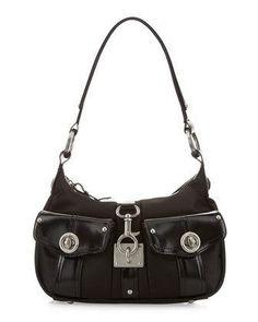 GF Ferre Nylon Two Pocket Hobo #handbag