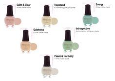 SpaRitual Meditate Spring 2013 nail polish collection