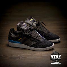 huge selection of 0fae7 5c955 adidas Skateboarding Busenitz  Black Royal Blue
