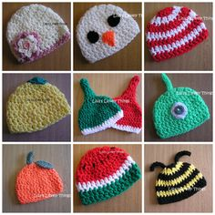Crochet Baby Hat - The Supermums Craft Fair