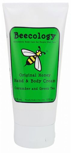 Our NEW Cucumber & Green Tea Hand & Body Cream!