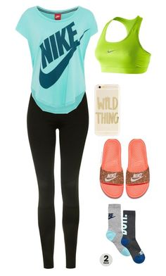 """""""Untitled #10"""" by atippman on Polyvore featuring Topshop, NIKE and Sonix"""
