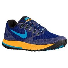 pretty nice d2c56 b7d48 Nike Air Zoom Wildhorse 3 Trail Running Shoe - Mens Deep Royal BlueLaser  Orange
