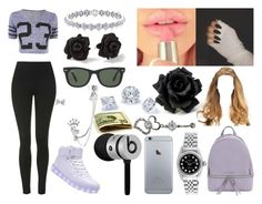 """""""Okay I Guess"""" by aaliyahsalmon ❤ liked on Polyvore featuring MICHAEL Michael Kors, Topshop, Marc by Marc Jacobs, Beats by Dr. Dre, Rolex, Ray-Ban and Betsey Johnson"""