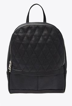 Quilted Faux Leather Backpack | Forever 21 | #f21accessorize