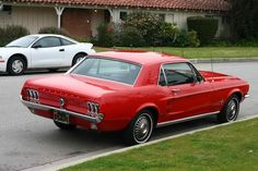 '67 Mustang.  I owned one of these in the early 70s.  The only car I've owned that I wish I still had.