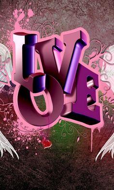 I love you Heart Wallpaper, Love Wallpaper, Cellphone Wallpaper, Mobile Wallpaper, Wallpaper Backgrounds, Iphone Wallpaper, I Love You Images, Love Pictures, Love Heart