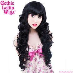 Gothic Lolita Wigs® Duchess Elodie™ Collection - Black Mix – Dolluxe®: