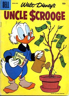 A cover gallery for the comic book Uncle Scrooge Teddy Bear Cartoon, Duck Cartoon, Duck Wallpaper, Cartoon Wallpaper, Disney Cartoons, Disney Movies, Disney Characters, Dagobert Duck, Donald And Daisy Duck