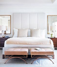 Sweet peach dreams- Tour a sophisticated San Francisco space