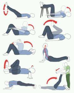 Lower tummy exercises