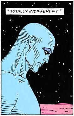 Alan Moore and Dave Gibbons, Watchmen Comic Books Art, Comic Art, Book Art, Arte Dc Comics, Bd Comics, Cosplay Games, Art Pulp, Dave Gibbons, Nerd