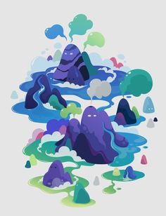 various works 2012 by zutto , via Behance