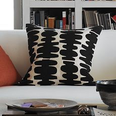 Totem pillow, west elm