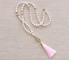 Love's Affect Beloved Tassel Necklace