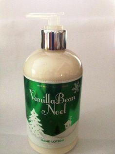 BATH & BODY WORKS Vanilla Bean Noel Lotion 10 oz #BathBodyWorks