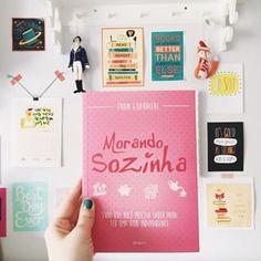 New book!  | Recebi o livro da @fraanguarnieri do blog Morando Sozinha  amei! Parabéns pela conquista, Fran! Que seu livro seja um sucesso