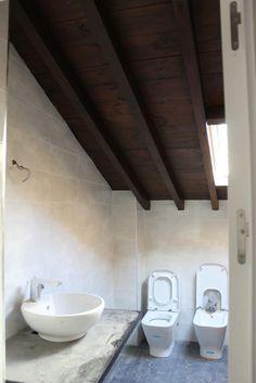 Catalina Redondo nos presenta su futuro baño, incluye un #lavabo sobre encimera y un set #inodoro + bidet Oslo, suerte en #fotoBath