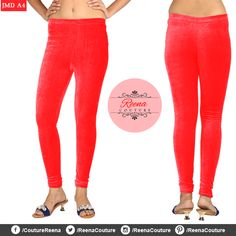 Stretchable VELVET churidar leggings available in different colours and all sizes. A perfect compliment to your dresses! PLACE YOUR ORDER! Call OR WhatsApp *We provide excellent customized stitching and designing for women! Churidar, Compliments, Stitching, Capri Pants, Pajama Pants, Pajamas, Velvet, Sweatpants, Leggings