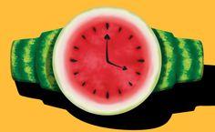 Watermelon Drawing, Watermelon Cartoon, Watermelon Patch, Watermelon Crafts, I Carried A Watermelon, Food Carving, One In A Melon, Creative Tattoos, Creative Food
