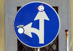 Clet, l'artista dei cartelli stradali, re-street