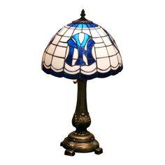 MLB Tiffany Table Lamp