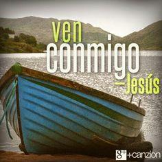 """Y tú, ¿estás dispuesto a seguirlo?  «Jesús los llamó: """"Vengan, síganme, ¡y yo les enseñaré cómo pescar personas!""""». —Mateo 4:19"""