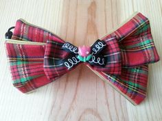ribbon bow ponytail holder 142L