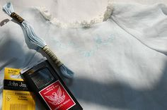 The Old Fashioned Baby Sewing Room: Daygown Sew Along - Lesson Five