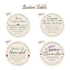 Pre-designed Personalized Labels 60-pk