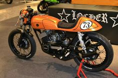 Yamaha RD 250 1973 Cafe Racer by Locher Design Germany