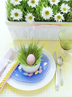 40 Easter Table Décor Ideas To Make This Family Holiday Special | DigsDigs