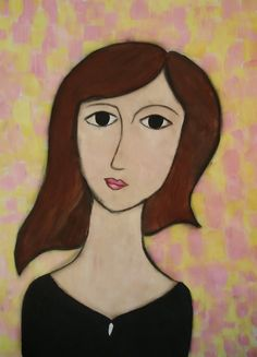 a faithful attempt: Modigliani- Style Portrait Paintings