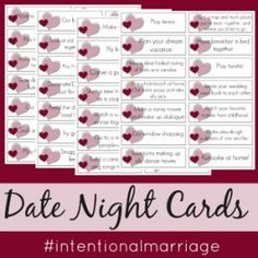 I recently attended a marriage conference. A woman with grown children talked about how important it is to have a date night, and I nodded my head in agreement.