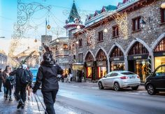 St. Moritz. No, you don't need to be loaded (as in $$$) to go and have a great time. One very fun spur-of-the moment Christmas. :)