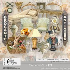 CAJOLINE-SCRAP: Elements CU - 121