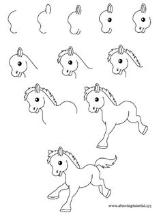 easy drawings step by step animals – Best Wallpaper
