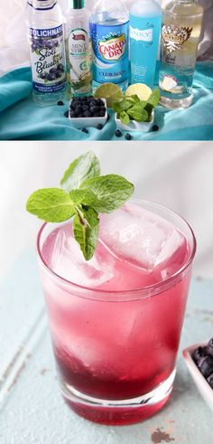If you love cocktails that taste like dessert, you're going to love this blueberry cake mojito recipe. The simple syrup makes the beverage - so delicious!