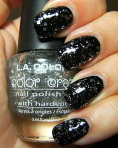 L.A. Colors Color Craze Nail Polish With Hardeners in Sparkling Diamonds
