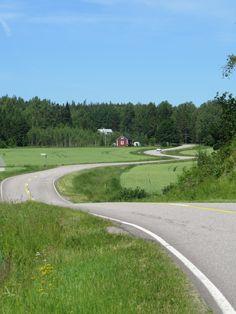 Pernaja. Finnish countryside.