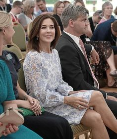 Crown Princess Mary of Denmark. May 29, 2018