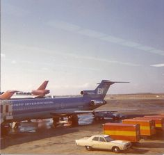 Braniff 727 Chicago O'Hare Airport