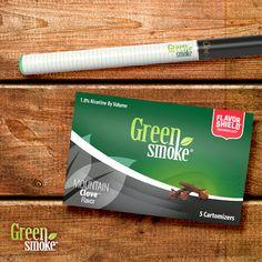 Noua aroma de la Green Smoke: Mountain Clove / Cuișoare
